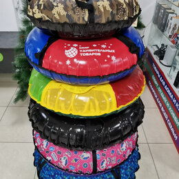 Тюбинги - Тюбинг (ватрушка для катания) ПВХ-ПВХ 120 см, 0