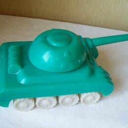 Машинки и техника - Игрушка -Танк С.С.С.Р.  (длина 34 см.,высота 15 см), 0