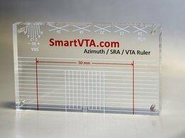 Аксессуары для проигрывателей виниловых дисков - Шаблон со шкалами углов SRA и VTA для…, 0