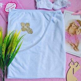 Полотенца - Полотенце для Крещения с уголком 100*100, 0