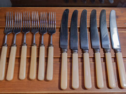 Столовые приборы - Ножи и вилки СССР , 0