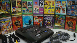 Ретро консоли - Игровые приставки Sega и Денди 16 8 лет, 0