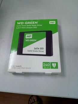 Внешние жесткие диски и SSD - SSD 240 gb wd green(новый), 0