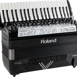Клавишные инструменты - Цифровой аккордеон Roland FR 8X RED/BK, 0