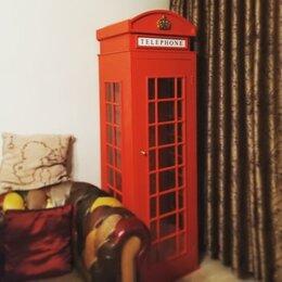 Шкафы, стенки, гарнитуры - Шкаф английская телефонная будка, 0