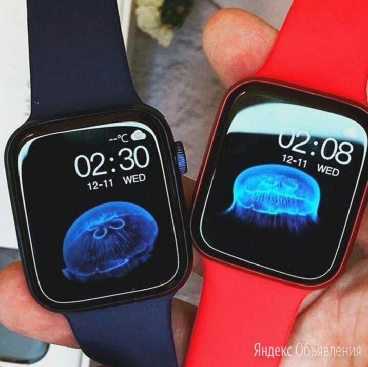 Apple Watch 6 44 мм (Больше 26 функций) по цене 3290₽ - Умные часы и браслеты, фото 0