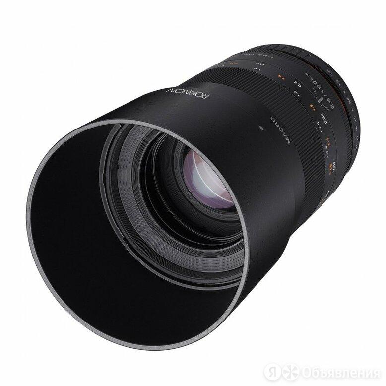 Samyang Объектив Samyang 100mm f/2.8 ED UMC Macro Canon M по цене 38670₽ - Объективы, фото 0