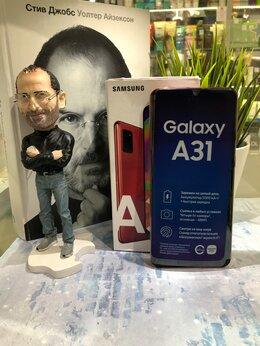 Мобильные телефоны - Samsung Galaxy A31 128GBb Красный Витринный , 0