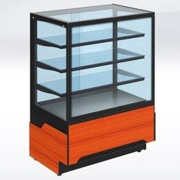 Холодильные витрины - Холодильная кондитерская витрина Adagio Cube 1200, 0