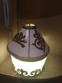 Настольные лампы и светильники - Настольная лампа в башкирском орнаменте, 0