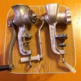 Мясорубки - Мясорубки советские, механические; запасные ножи к ним, 0