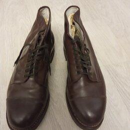 Ботинки - ботинки военные коричневые новые, 0
