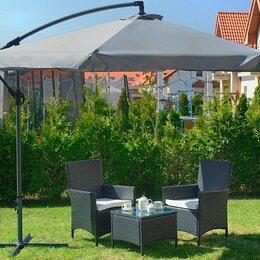 Зонты от солнца - Зонт Садовый на боковой стреле, складной, 0