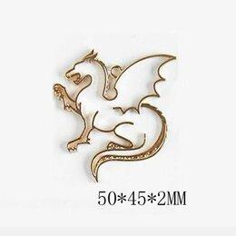 """Подставки и держатели - EpoximaxX Рамка """"Дракон"""" для украшений из УФ смолы 5*4 см, 0"""