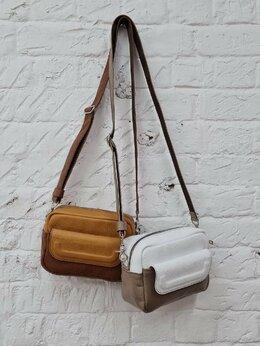 Сумки - Женская кожаная сумка , 0
