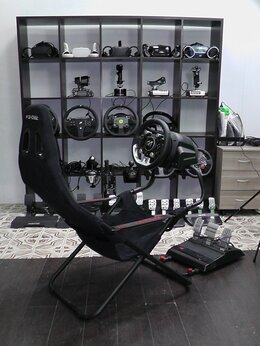 Рули, джойстики, геймпады - Thrustmaster T-GT Кресло PlaySeat Challenge PS5…, 0