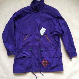 Куртки - Ветровка женская хлопок фиолетовая новая с биркой, 0