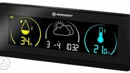 Метеостанции, термометры, барометры - Метеостанция BRESSER Temeo Life, черный, 0