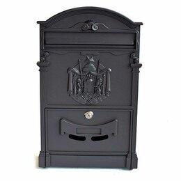 Почтовые ящики - Ящик почтовый черный, 0