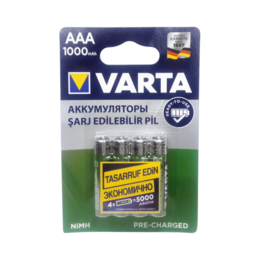 Аксессуары и запчасти для оргтехники - Аккумулятор VARTA AAA 1000mAh /4BL 5703, 0