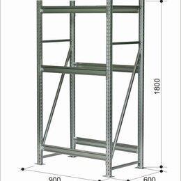 Стеллажи и этажерки - Комплект стеллажа Z  900*600 Модель №1, 0