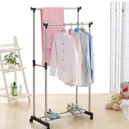 Шкафы, стенки, гарнитуры - Напольная вешалка двойная, 0