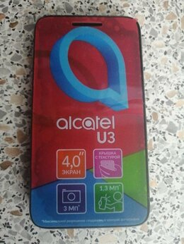 Дисплеи и тачскрины - Alcatel U3 дисплей, 0