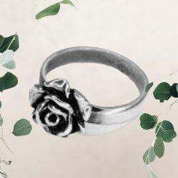 Кольца и перстни - Кольцо женское Цветущая роза , 0
