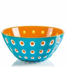 Блюда, салатники и соусники - Салатница пластиковая 25 см бирюзовая Le Murrine, 0