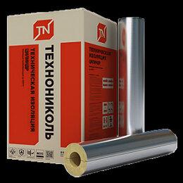 Изоляционные материалы - Цилиндр базальтовый Техно 80 ФА 1200х76х30 мм, 0