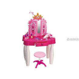 Столы и столики - Детское игрушечное трюмо 661-21 со стульчиком, с…, 0
