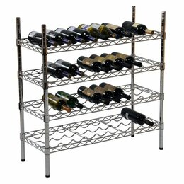 Винные шкафы - Стеллаж для вина Gastrorag 1448-55W, 0