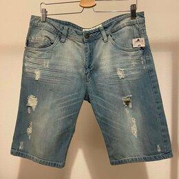 Шорты - Мужские джинсовые шорты (новые), 0