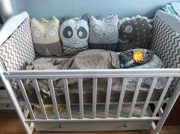 Постельное белье - Бортики в детскую кроватку + комплект белья , 0