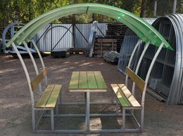 Комплекты садовой мебели - Беседки дачные, уютные, 0