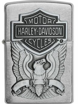 Пепельницы и зажигалки - Зажигалка Zippo Harley Davidson, 0
