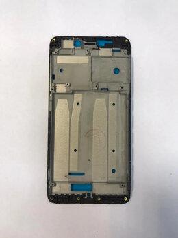 Корпусные детали - Рамка дисплея Xiaomi redmi 4A Черная Новая, 0