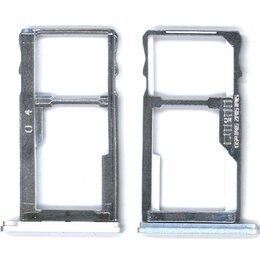 Прочие запасные части - Лоток для SIM-карты Meizu U10 серебристый, 0