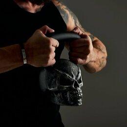 Гири - Гиря 💀 череп 16 кг., 0