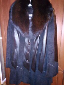 Дубленки - Пальто подстежка из кролика, италия, 0