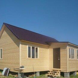 Готовые строения - Деревянный дом каркасный строительство под ключ 6*4 м, 0