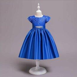 Платья и сарафаны - Новое, пышное платье для девочки (подклад из хлопка), 0