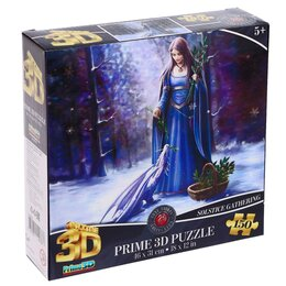 Пазлы - 3D Пазл 150 элементов «Зимнее утро», 0