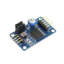 Цифро-аналоговые преобразователи - ЦАП/АЦП модуль PCF8591, 0