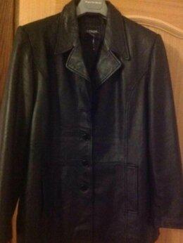 Куртки - Куртка из натуральной кожи, 0