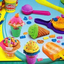 Лепка - Пластилин play doh для мороженого, 0
