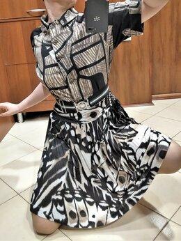 Блузки и кофточки - 🔴 Max Mara Италия рубашка - сафари хлопок стрейч, 0