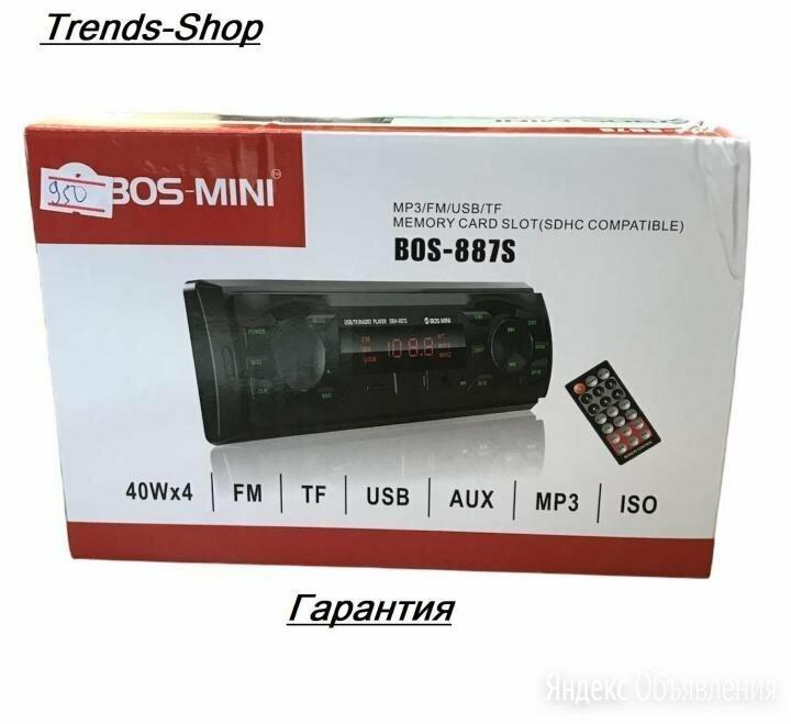 магнитола bos 887s по цене 950₽ - Музыкальные центры,  магнитофоны, магнитолы, фото 0