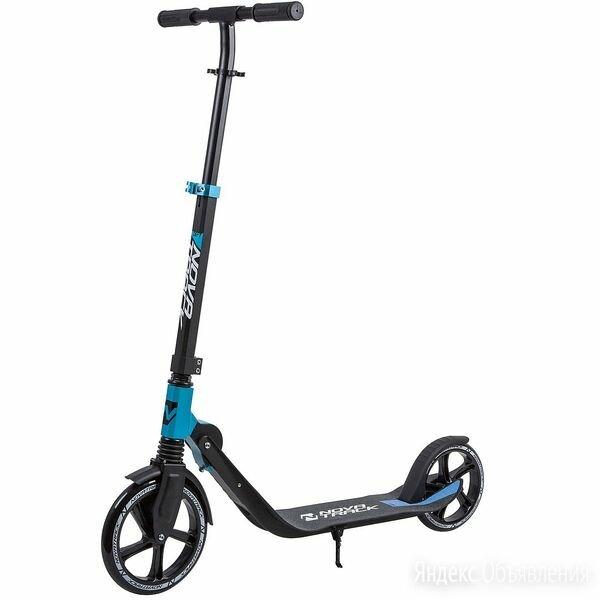 Самокат городской NOVATRACK DEFT синий (колеса 230*200 мм) по цене 8120₽ - Велосипеды, фото 0