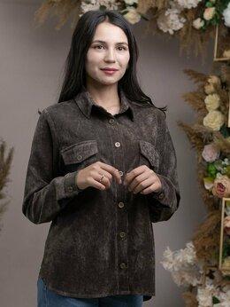 Блузки и кофточки - Новая женская вельветовая рубашка 48 рр, 0